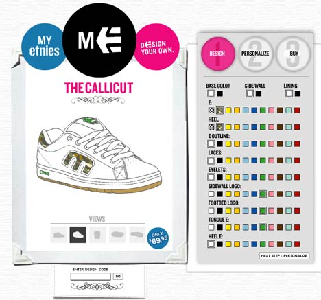 Design Your Own Shoes At Etnies