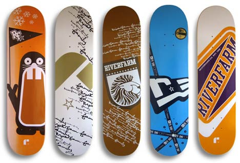 Riverfarm Family 2006 skateboards