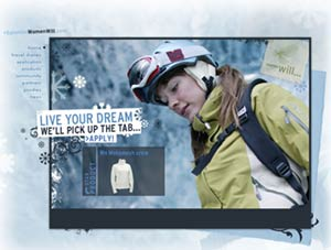 Live your dream with salomon