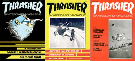 Thrasher covers