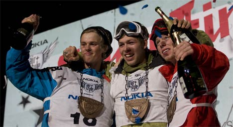 Air & Style winners