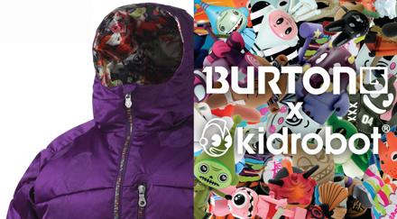 Burton X Kid Robot