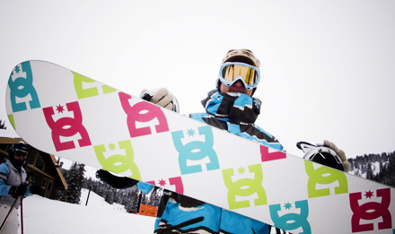 DC snowboarding Devun Walsh