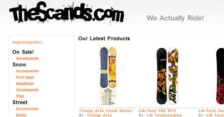 Thescands.com