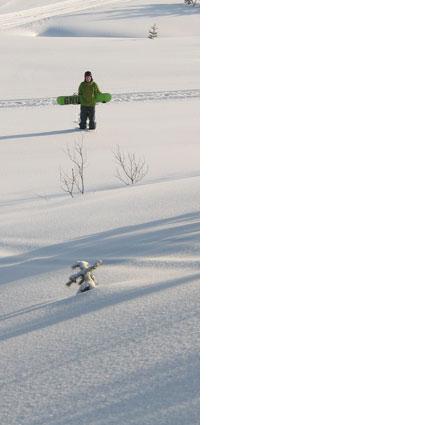No slopes here!