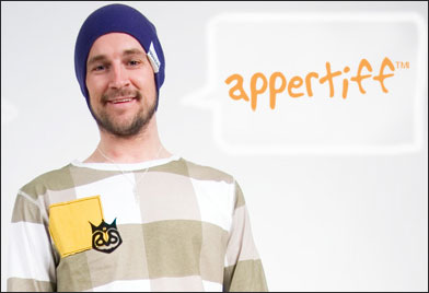 BIG competition. Win stuff from Appertiff!!