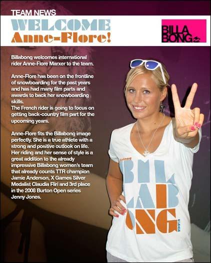Ann-Flore Marxer Billabong