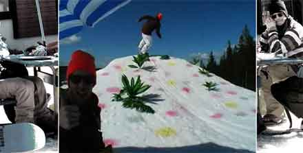 Appertiff snowboard film