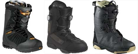 ThirtyTwo, Dc and Salomon boots