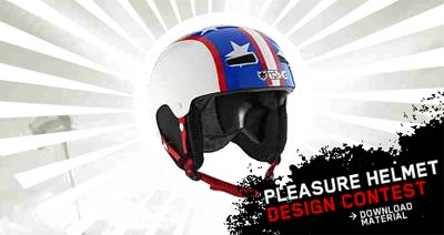 Pleasure helmet design contest