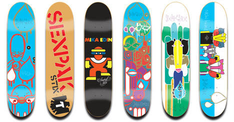 Sexpak Stix Skateboards